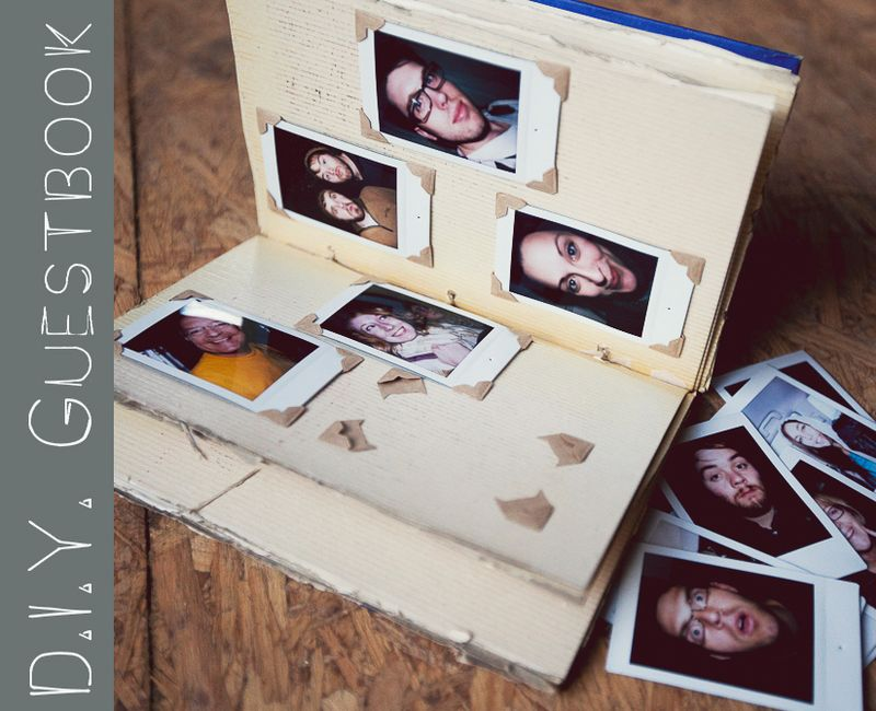 D.I.Y. Photo Guestbook