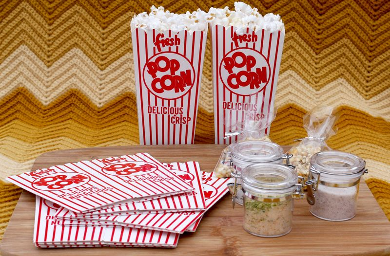 Flavored Popcorn Kit (gift idea) - A