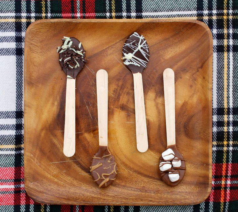 Hot chocolate spoons 4