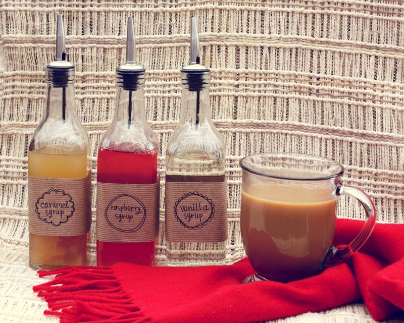 Make Your Own Coffee Syrup (Gift Idea)