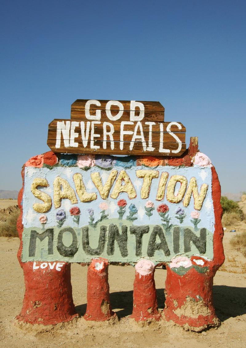 2 salvation mountain