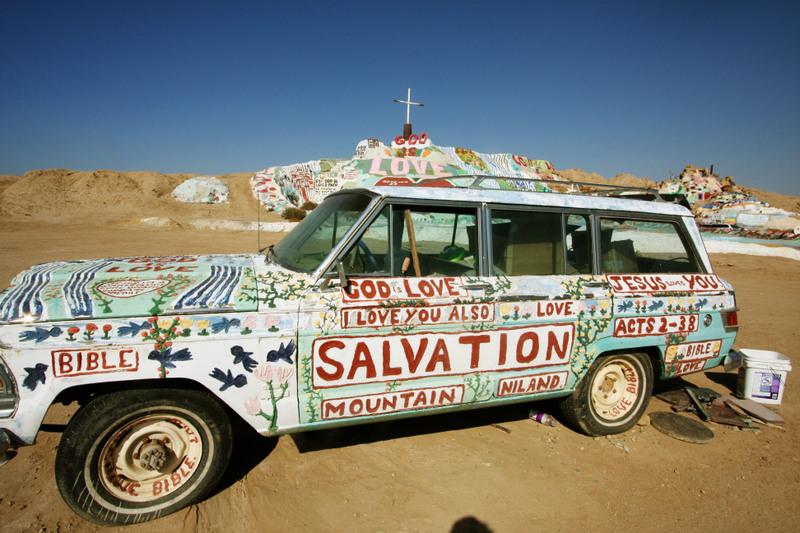 3 salvation mountain
