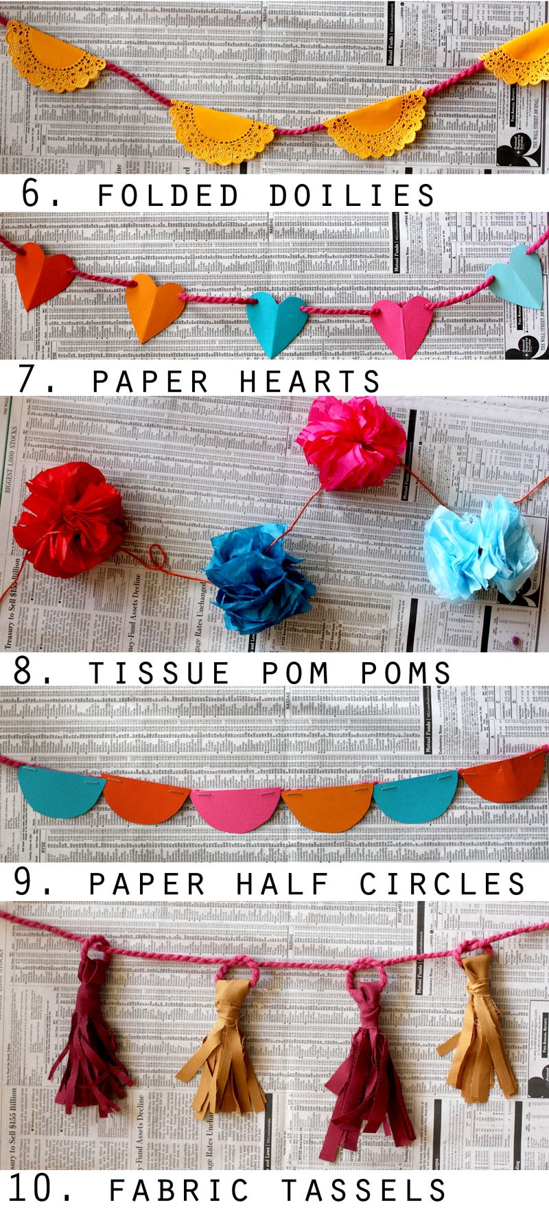 10 Ways To Make A Garland A Beautiful Mess