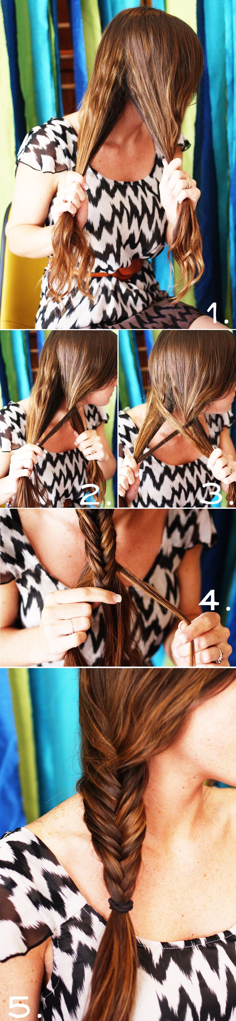 How To Style a Fishtail Braid   A Beautiful Mess