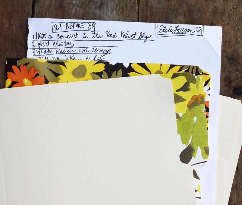 Folders in use