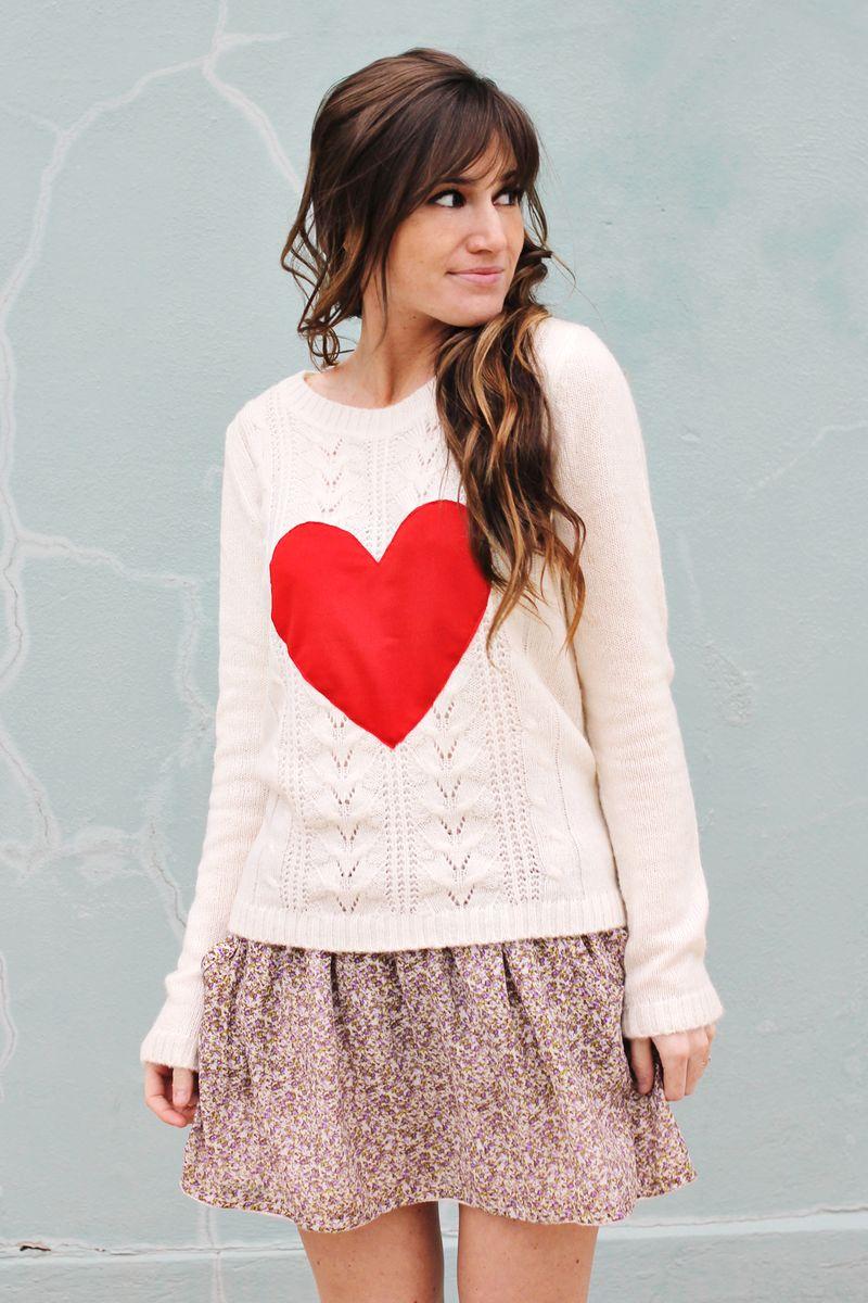 Heart Sweater 2