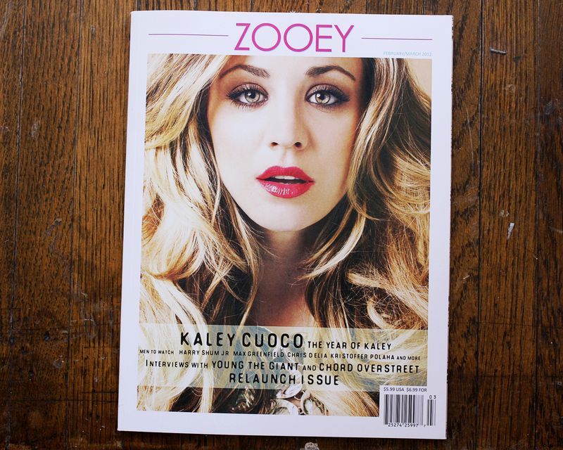 Zooey Magazine feature 3