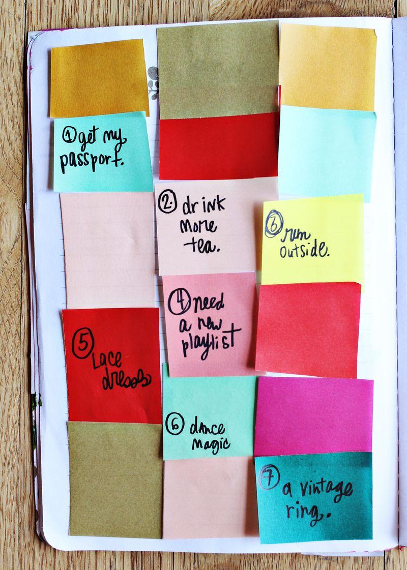 Elsie's Spring Art Journal