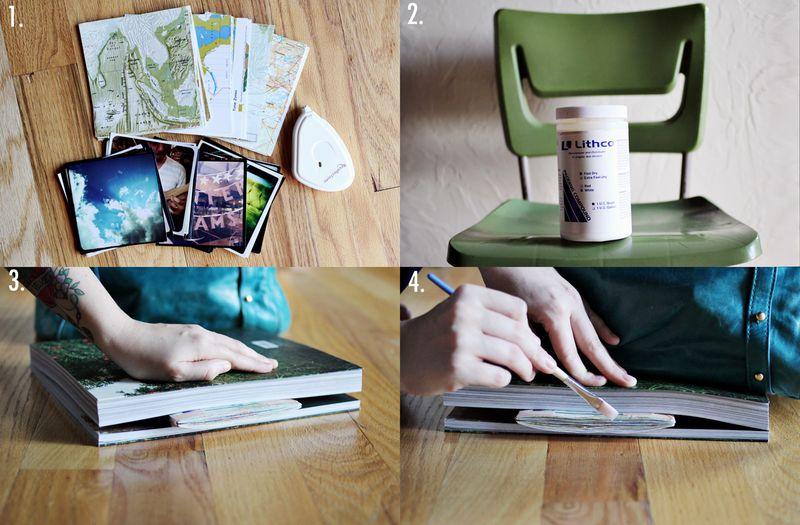 Instagram book steps