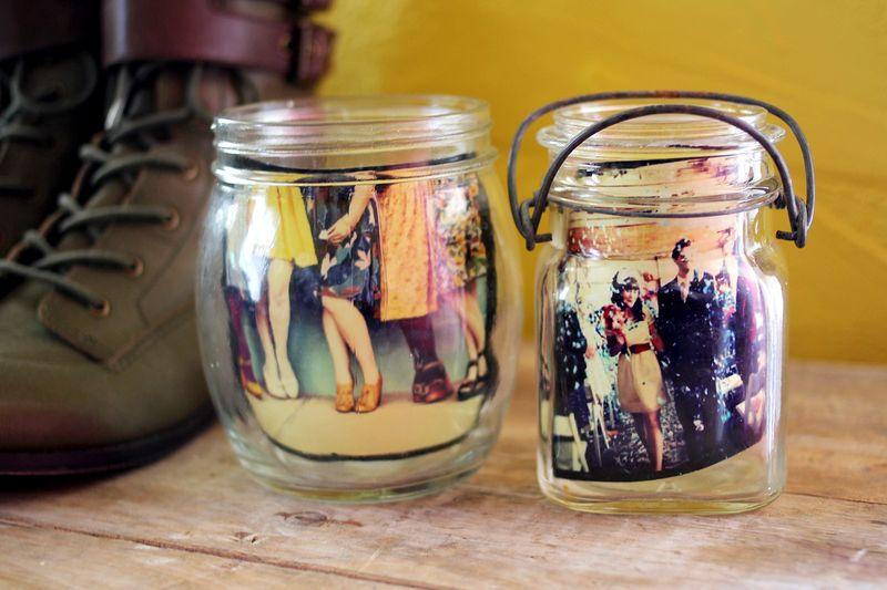 Instagram in mason jars