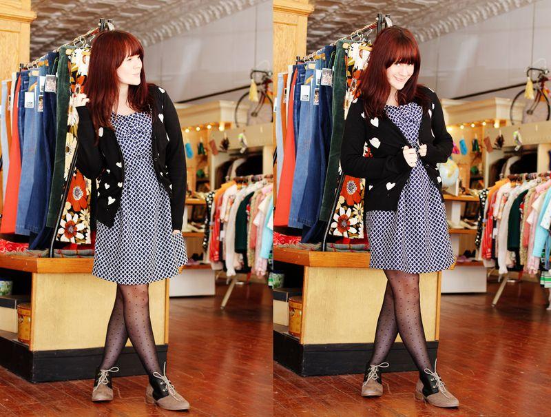 Color block shoes outfit