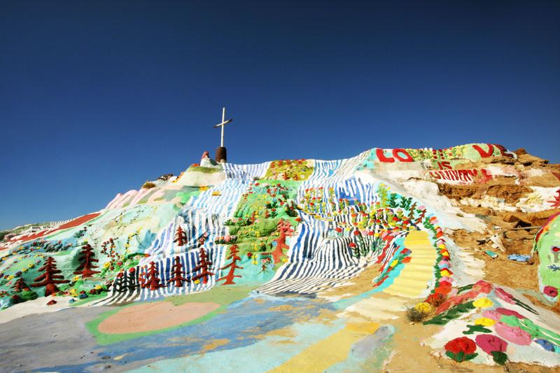 6 salvation mountain