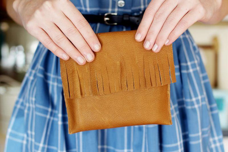 Leather Pocket Purse
