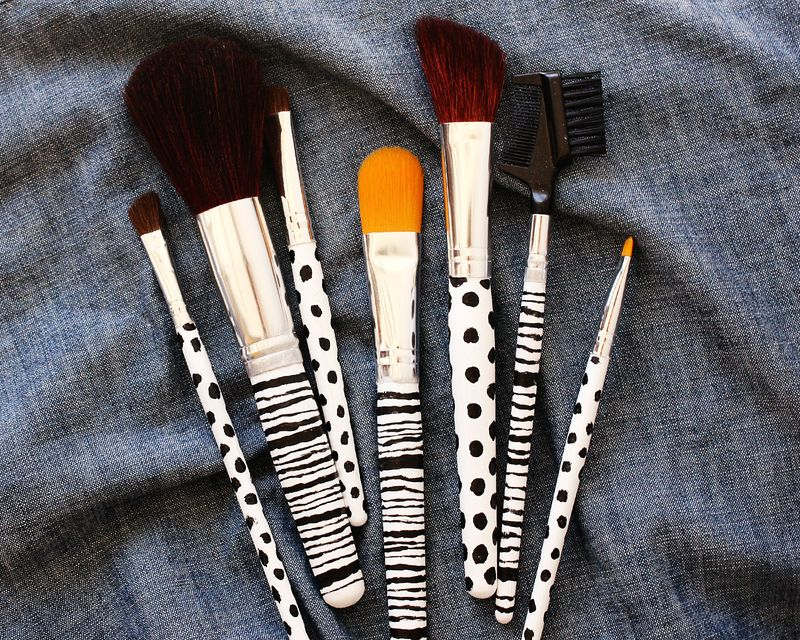 Custom Makeup Brush Diy Project A