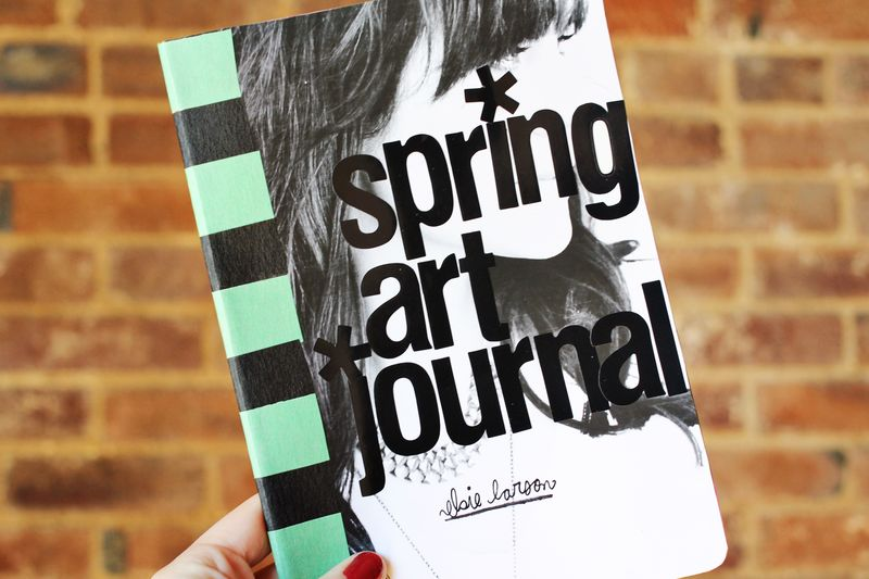 Spring art journal 1
