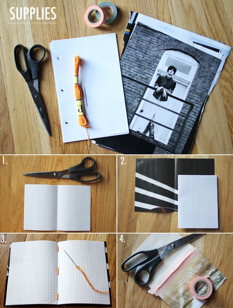 Mini journal how-to