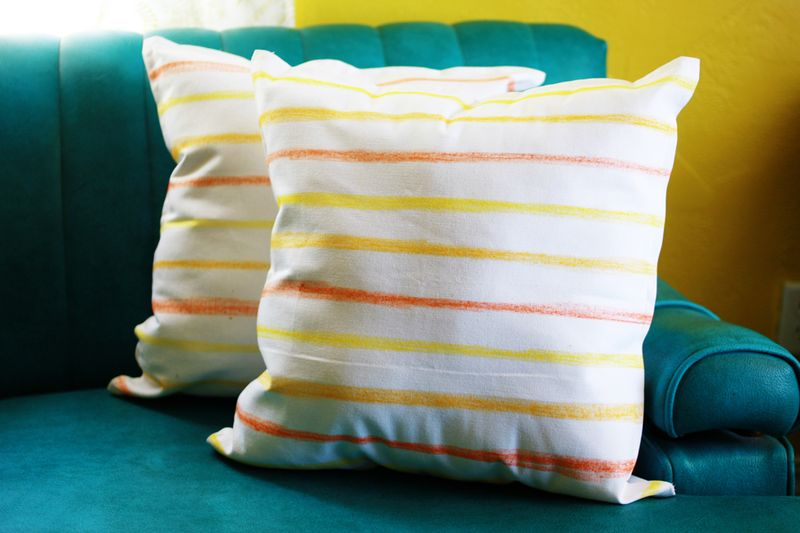 Fabric fun pillows