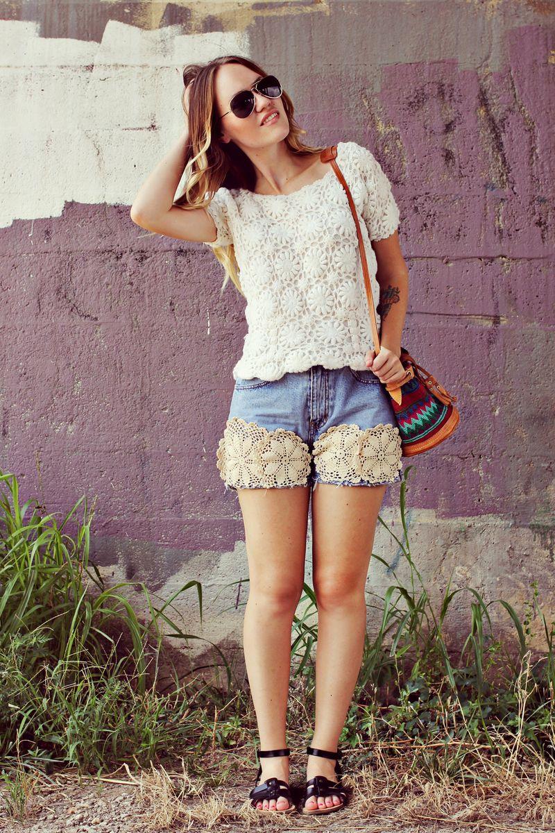 Doilie shorts