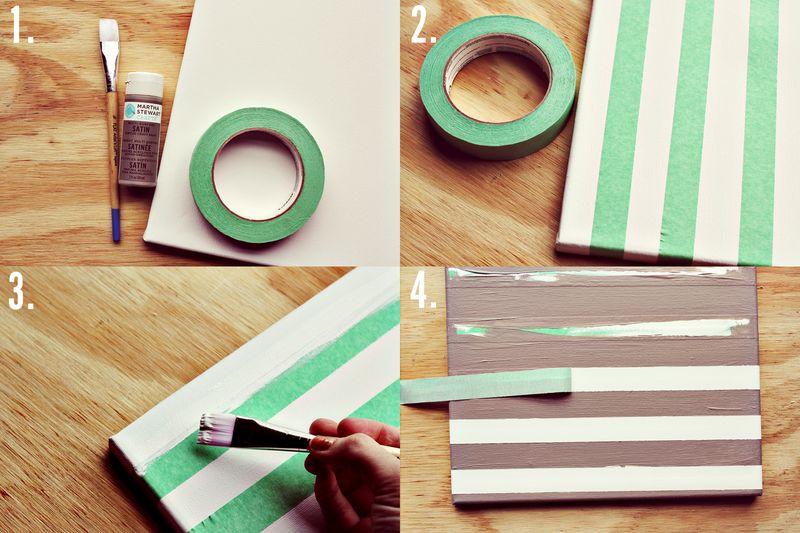 Stripe canvas how-to