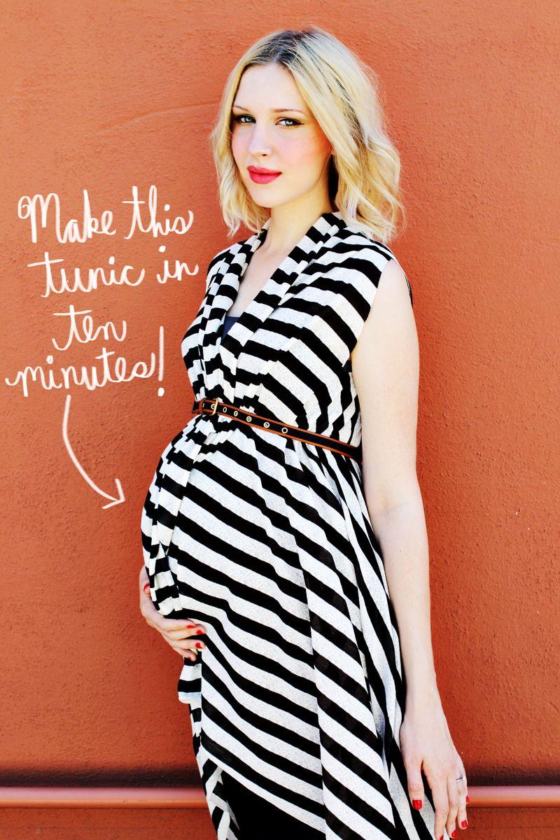 Maternity Tunic DIY