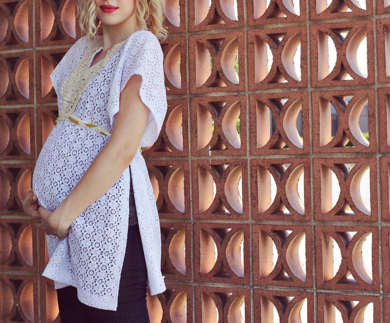 Maternity Top DIY