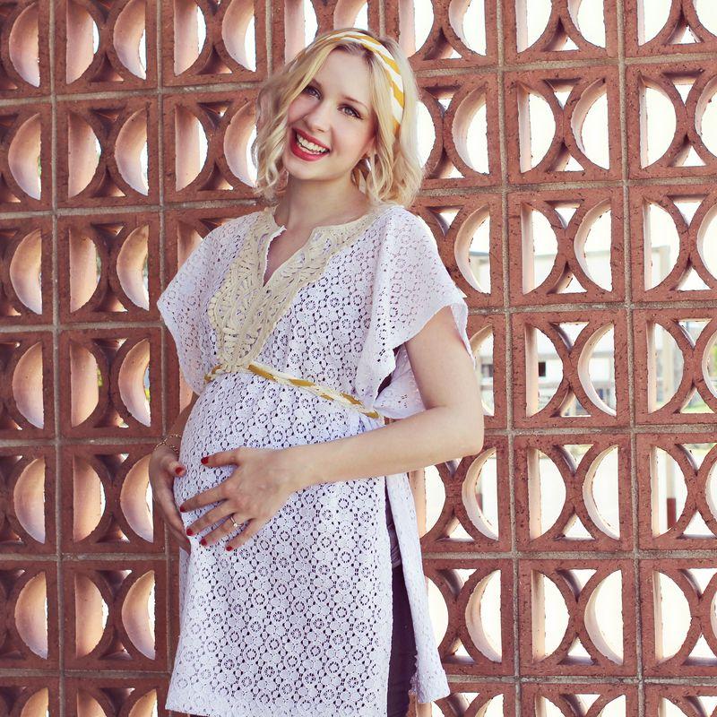 Maternity Apron Top DIY