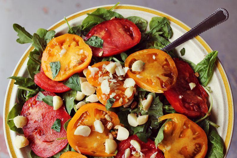 Tomato + Basil Salad