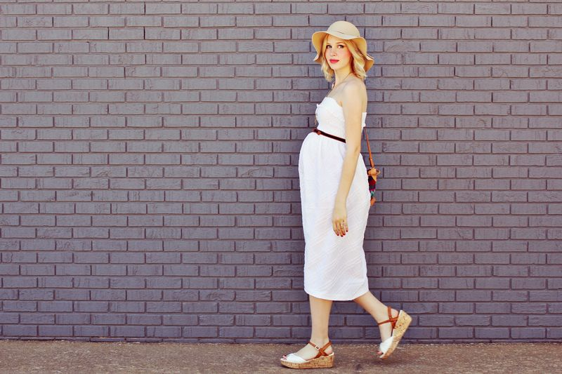 DIY Maternity Sun Dress