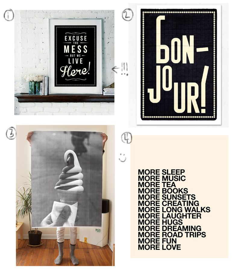 Etsy Prints I Love by A Beautiful Mess