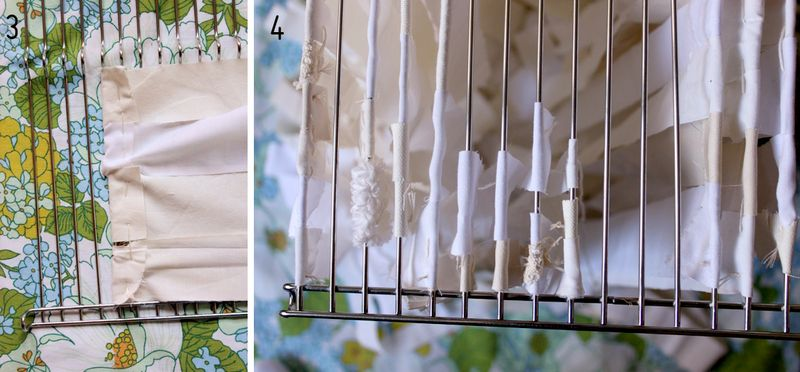 Diy oversized fabric garland chandelier a beautiful mess 5 aloadofball Images
