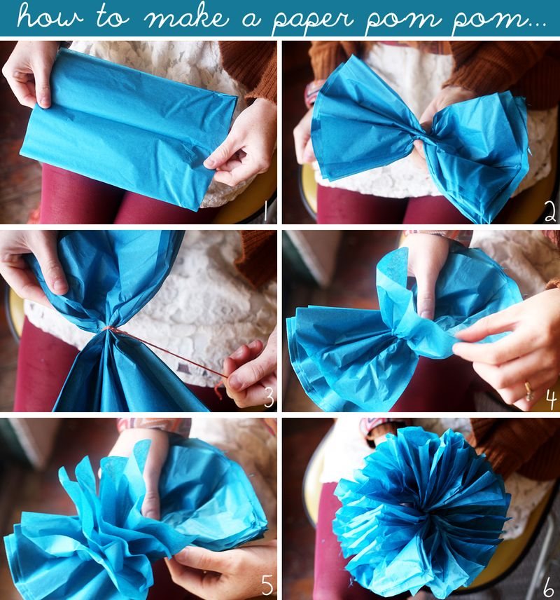 10 ways to make a garland a beautiful mess to make a mini paper pom pom or flower follow this simple photo tutorial its really easy and this is the best method weve found for making mini pom mightylinksfo