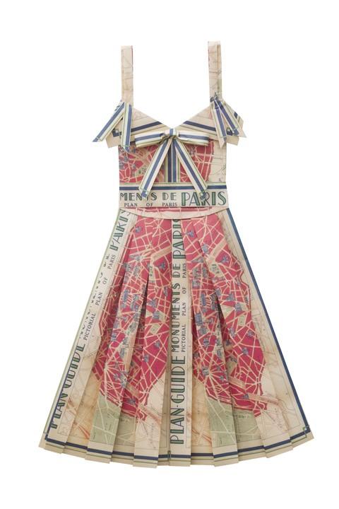 Paper dresses 4