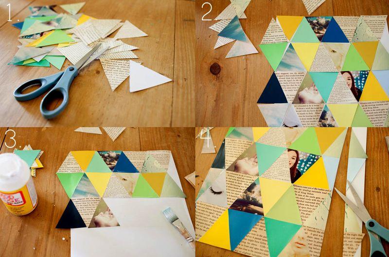 Geometric Photo Art Steps