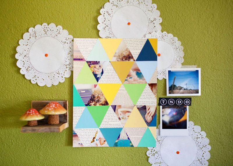 Geometric Photo Art Project