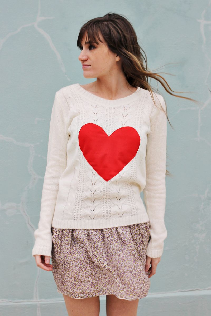 Heart Sweater 3