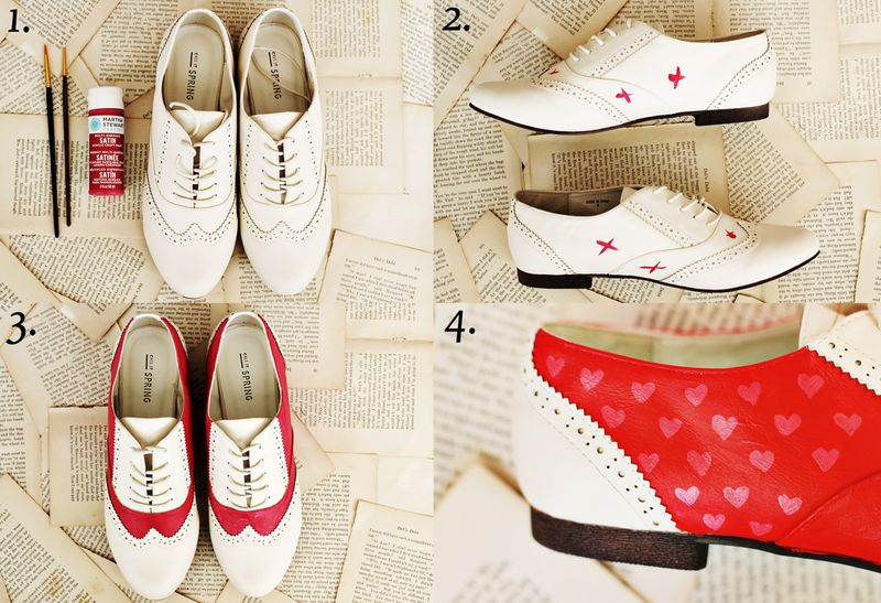 Red Saddle Shoes
