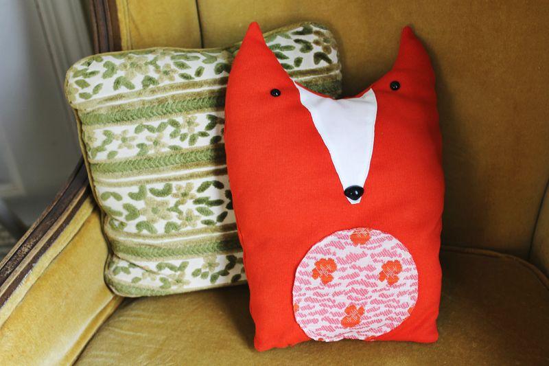 Plush fox 2