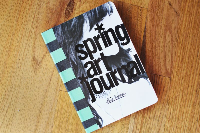 Spring art journal 2