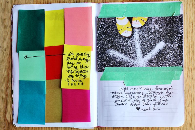 Spring art journal 3