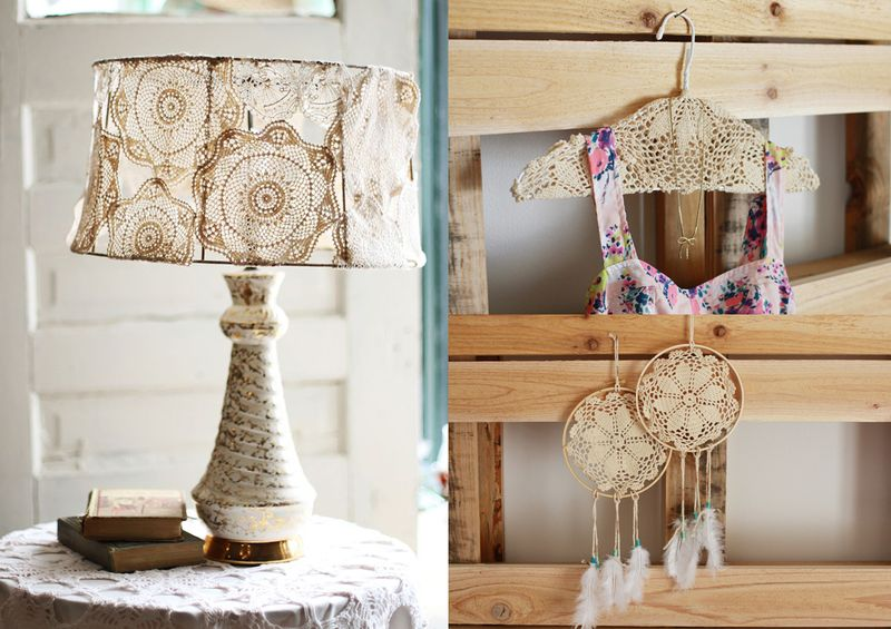 Three ways to craft doilies