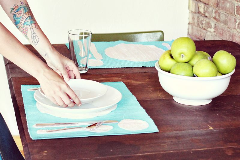 Place Setting DIY from A Beautiful Mess