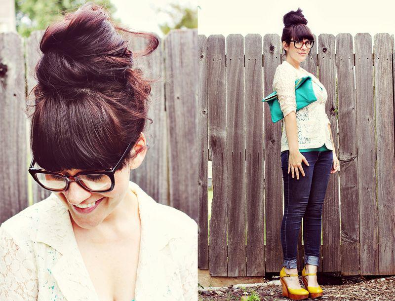Sister style via A Beautiful Mess