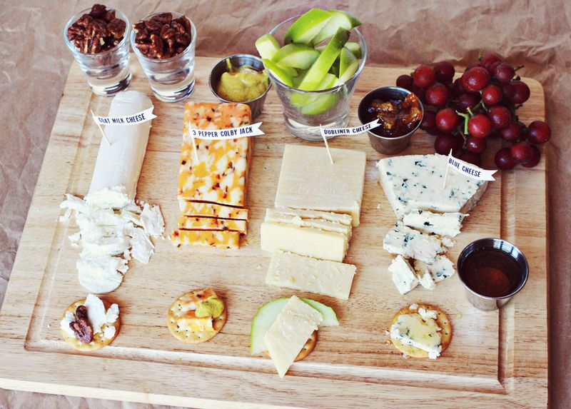 Cheese Party Plate
