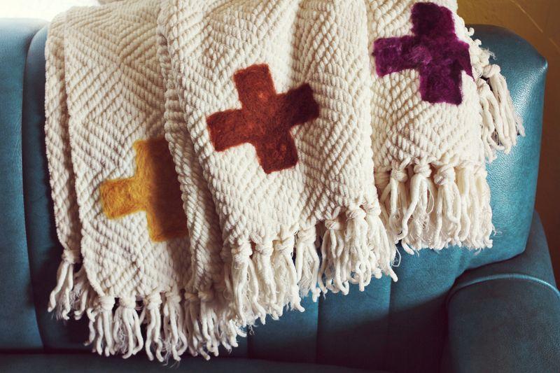Needle Felted Blanket