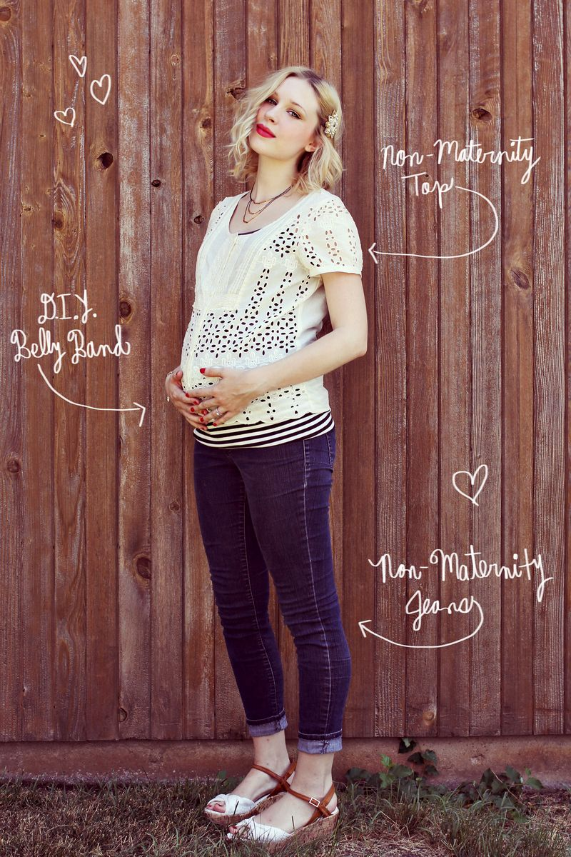 Maternity Clothes Not Beer Belly Funny Cute Pregnant Mom Cool Pregnancy T-Shirt