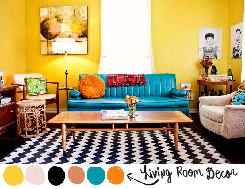 Living Room Color Story