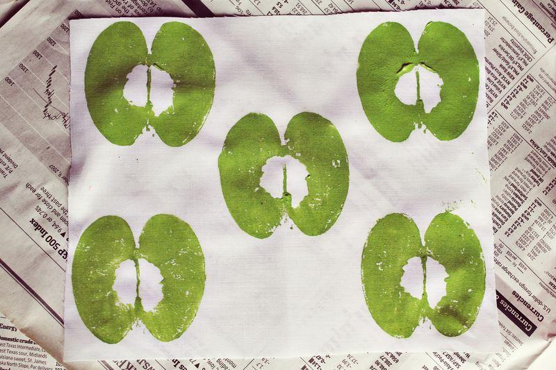 DIY Apple Fabric