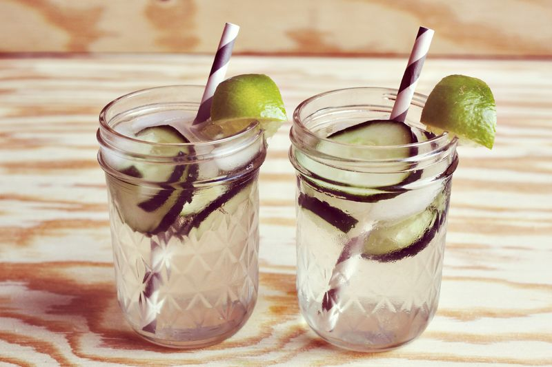 Cucumber Gimlet Recipe