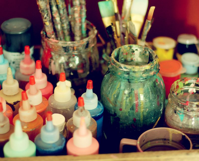 Painting Supplies : A Beautiful Mess