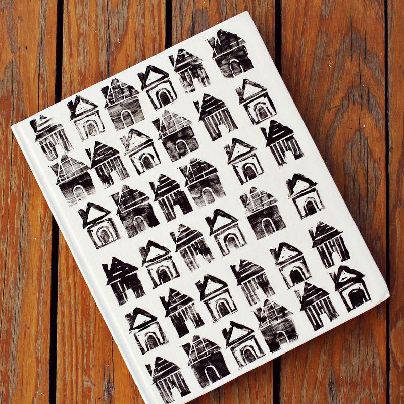 DIY House Stamp Journal